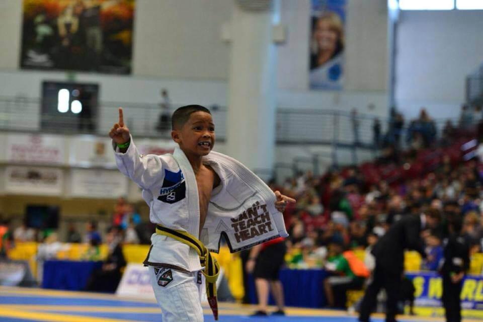 Less Fortunate Kid Cries When He Recieves First Jiu Jitsu Gi