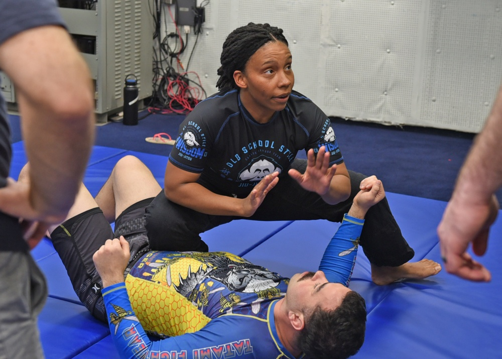 BJJ is best martial art for women's self defense